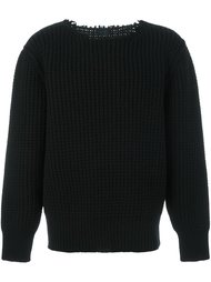 military stitch crew neck Lanvin