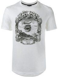 футболка с принтом глаза Ann Demeulemeester