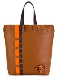 квадратная сумка на плечо с бахромой Emilio Pucci
