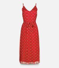 платье c V-образным вырезом  Christopher Kane