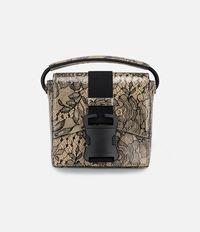 сумка на плечо мини с кружевным принтом Christopher Kane