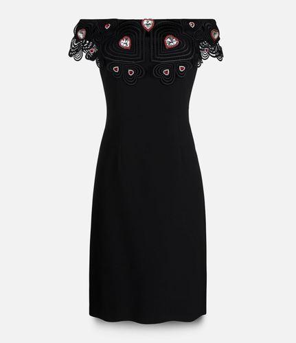 платье с декорированной вышивкой Christopher Kane