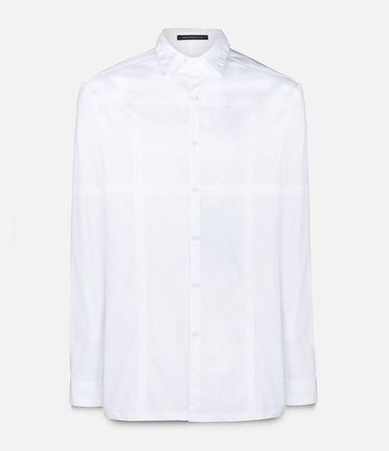 рубашка в клетку Christopher Kane
