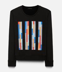 свитер с контрастной вышивкой Christopher Kane