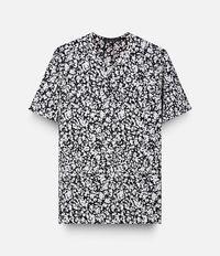 рубашка с пятнистым принтом  Christopher Kane
