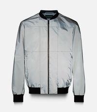 куртка-бомбер с отражающим покрытием Christopher Kane