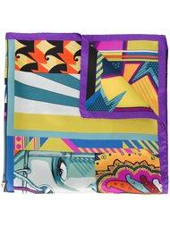 платок с комбинированным принтом Etro