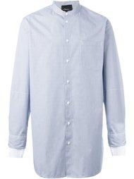 рубашка в полоску с воротником-стойкой  3.1 Phillip Lim