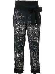 укороченные брюки '161 Pearl'  A.F.Vandevorst