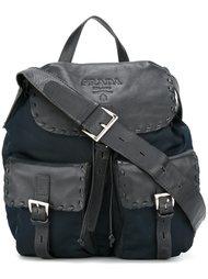 рюкзак с передними карманами Prada Vintage