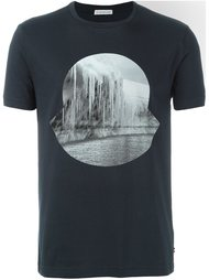 футболка с принтом сосулек Moncler