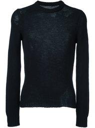 вязаный свитер свободной вязки Maison Margiela