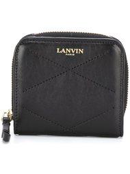 стеганый кошелек для монет Lanvin