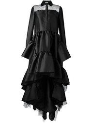 layered ruffle dress  Natasha Zinko