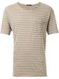 футболка в полоску  Bassike