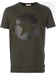 футболка с принтом звезды  Moncler