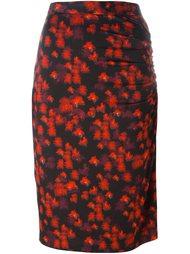 юбка с абстрактным принтом Givenchy