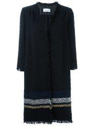 пальто с контрастными полосками Sonia Rykiel