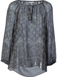 блузка с мелким принтом Joie