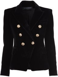 double breasted blazer Balmain