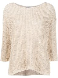 openwork sweater Eileen Fisher