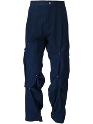 folded and stitched trousers Icosae