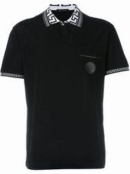 футболка-поло 'Greca' Versace