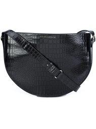 сумка через плечо с эффектом крокодиловой кожи  Victoria Beckham
