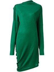 платье с асимметричным подолом Maison Margiela