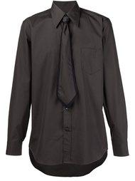 рубашка с декоративным галстуком Marc Jacobs