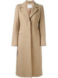 однобортное пальто Prada Vintage