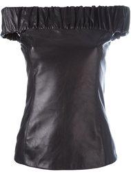блузка с открытыми плечами Drome
