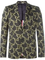 heart-chain pattern blazer PS Paul Smith