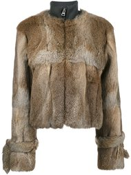 fur zipped jacket J.W. Anderson