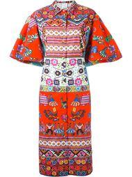 платье-рубашка с принтом  Stella Jean