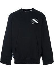 chest patch sweatshirt KTZ