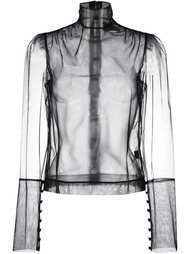 sheer blouse Simone Rocha