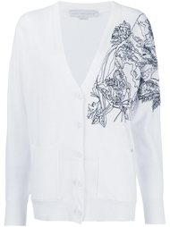 embroidered shoulder cardigan Stella McCartney