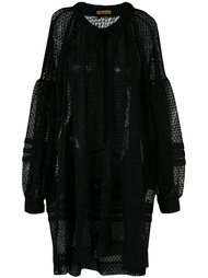 lace smock dress Peter Jensen
