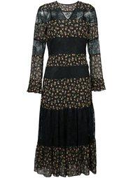 long rusebud and lace dress Philosophy Di Lorenzo Serafini
