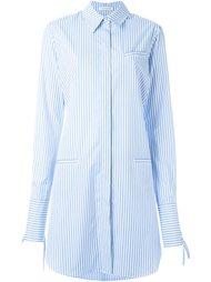 платье-рубашка с поясом на спине J.W. Anderson