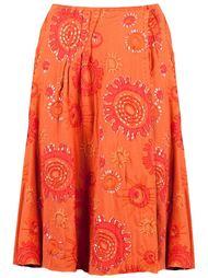 юбка с узорной вышивкой Projet Alabama