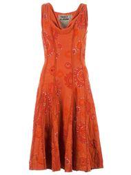 платье с узорной вышивкой Projet Alabama