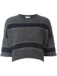 укороченный свитер  Brunello Cucinelli