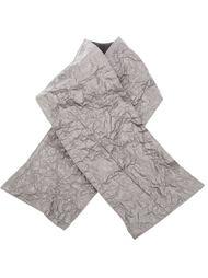 дутый шарф с мятым эффектом Simona Tagliaferri