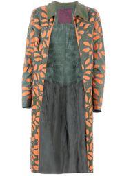 пальто с лиственным узором Projet Alabama