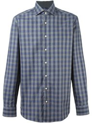 рубашка в клетку 'Mayfair Navy Check'  Hackett