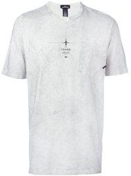 футболка с принтом 'shadow project' Stone Island