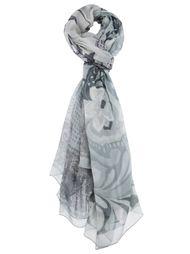 шарф с цветочным принтом Pierre-Louis Mascia