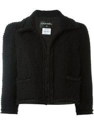 укороченный пиджак Chanel Vintage